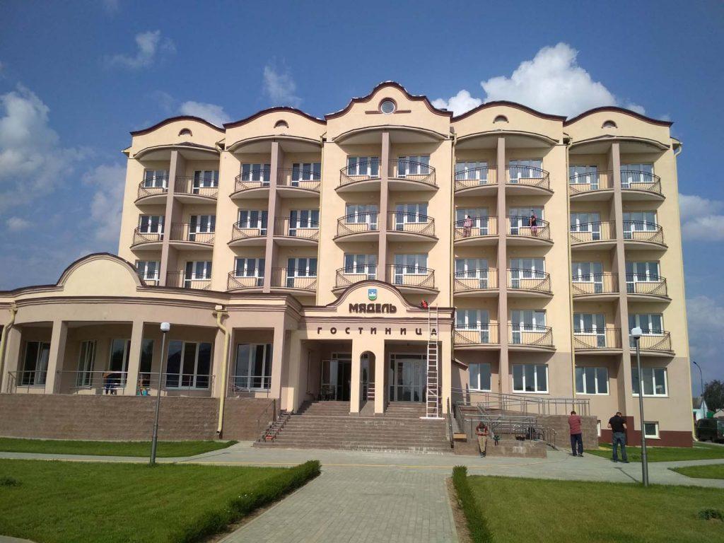 На отель